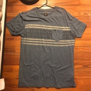 Rvca short sleeve pocket tee